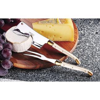 Laguiole Käsebesteck Echte Laguiole-Messer. Von Hand gefertigt.
