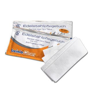 Edelstahl-Reinigungstücher, 25 Stück Hygienische Sauberkeit + streifenfreier Glanz + lang anhaltender Schutz vor Fingerabdrücken.