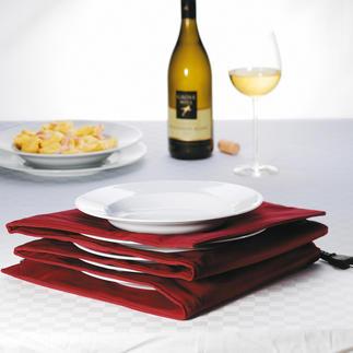 Tellerwärmer für Pasta- und Menüteller Mit heisser Essfläche und handwarmen Rändern. Für bis zu 8 grosse Pasta- und Menüteller.
