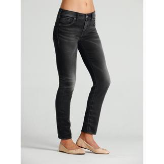 Die Jeans mit Yoga-Pants-Feeling. Gewebt und nicht gewirkt. Authentische Jeans-Optik. Selten gut gelungen bei Silver®, Kanada.