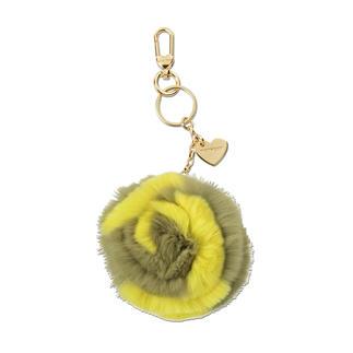 TWINSET Fellanhänger So hot: flauschige Fellbommel an Taschen und Schlüsseln. Tragen Sie die Signature-Styles von TWINSET.