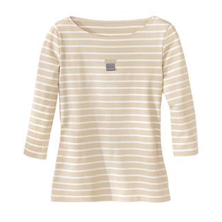 Die original Bretagne-Shirts aus fein gewirktem Baumwoll-Jersey. Von Saint James/Frankreich. Bunt gewirkt - nicht nur bedruckt. Aus fest gewirktem Jersey. Bequem und widerstandsfähig.