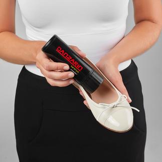 Der Schuhpuder argentinischer Tango-Tänzer. Hält Ihre Füsse trocken, frisch und unversehrt. Bildet eine samtweiche Schutzschicht zwischen dem Schuh und dem nackten Fuss.