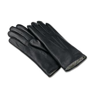 Dents-Handschuhe aus feinstem Lammnappaleder mit weichem Kaninchenfell-Futter. Sitzen immer wie ein zweite Haut. Mit präzise haltbar gesteppten Nähte und drei Ziernähten auf dem Rücken..
