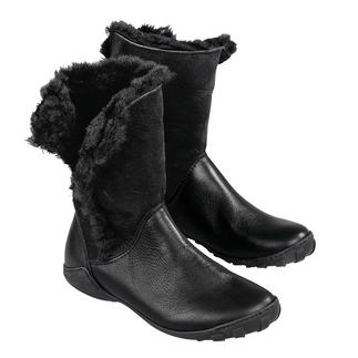 Die Lammfell-Stulpen-Stiefel von Arcus - so bequem sind winterwarme, wetterfeste Stiefel nur selten. Wasserdicht. Kälte isolierend. Flexibel. Stossdämpfend. Abriebfest. Weich. 325 Gramm leicht.