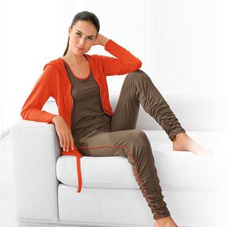 Die SeaCell® pure-Wellness-Wear - Schützt und pflegt die Haut einfach beim Tragen durch Vitalstoffe im Stoff. Besonders anschmiegsames, weiches Tragegefühl auf der Haut durch Pima-Baumwolle und SeaCell®.