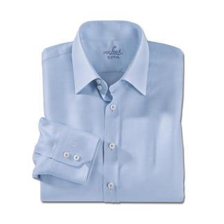 Das Businesshemd aus luftigem Panama-Gewebe. Feiner, leichter und nobler als übliche Panama-Hemden. Meisterlich verarbeitet von Hemdenspezialist van Laack, seit 1881.