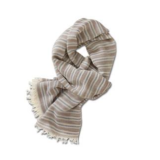 Der Viskose-Schal, der zu unzähligen Outfits passt. Viel unempfindlicher als übliche Sommerschals aus Baumwolle.