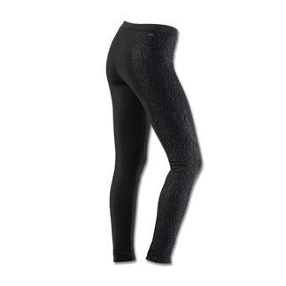 Die Edel-Leggings mit Spitzeneinsatz: Gewohnt bequem, aber viel eleganter. Perfekt zu festlichen Tuniken, Minikleidern, Long-Pullis...
