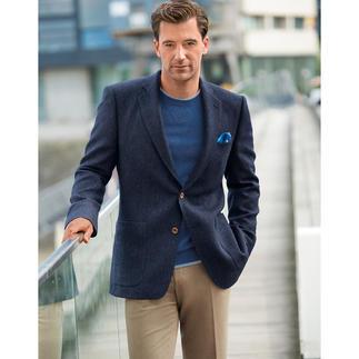 Das original Donegal-Tweed-Sakko. Vom irischen Traditionshaus Magee. Der Tweed wird noch von Hand gewebt. Daraus entsteht ein zeitloser, leicht wärmender Blazer.