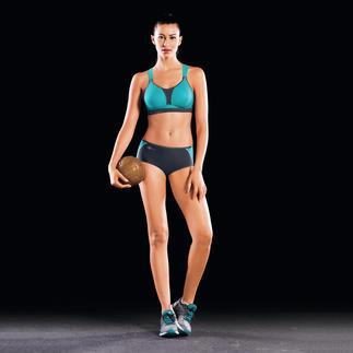 """Der Sport-BH mit """"reddot"""" Award - coole Optik, sicherer Halt und atmungsstarkes Material. Maximaler Halt: fängt 80 % der Schwingungen des empfindlichen Brustgewebes ab - ideal für jegliche Sportarten."""