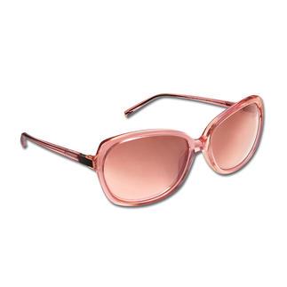Die Retro-Sonnenbrille - eine grosse Brillenform, die auch schmalen Gesichtern schmeichelt. Von Strenesse. Aussergewöhnlich und trotzdem dezent und feminin. Zarter Rosé-Ton schmeichelt blassem und gebräuntem Teint.