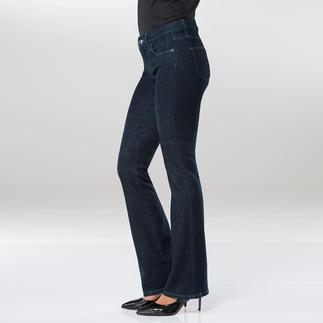 Die Designer-Jeans, die sogar im Business akzeptabel ist. Von Strenesse. Modisch aktuell: Raw-Denim-Look, ausgestelltes Bein + Cleaner Schnitt + Perfekte Passform.