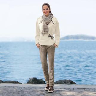 Die selten schicke Fleece-Jacke mit seidigem Griff. Und ohne Pilling. Skandinavisches Design von Henriette Steffensen, Kopenhagen.