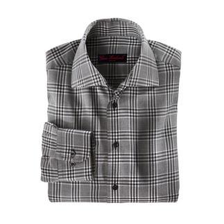 Das Winterhemd mit feinstem Kaschmir. Eine luxuriöse Rarität. Angenehm wärmend. Wunderbar weich. Erfreulich günstig.