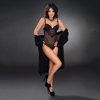 Der Exilia Spitzenbody - selten sind verführerische Dessous so stilvoll. Fühlbar luxuriös. Das ideale festliche Darunter für tief ausgeschnittene Kleider und Blusen.