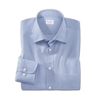 Die modische Alternative zum klassischen hellblauen Businesshemd. Stilvolles Minimal-Dessin im Digitaldruckverfahren.