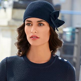 Der wohl unkomplizierteste Hut. Oder die wohl eleganteste Mütze. Seit 20 Jahren einer der Bestseller von Laulhère, Frankreich.