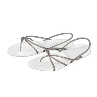 Die stylishe und puristische unter den Strand-Sandalen. Ipanemas, designed by Philippe Starck.