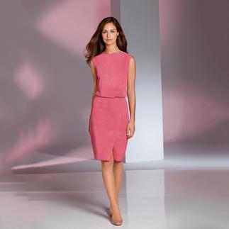 Die aussergewöhnliche Kombination aus weichem Ziegenvelours. Zu einem sehr erfreulichen Preis. Luxuriöses Leder. Feminine Form. Modefarbe Erdbeereis.