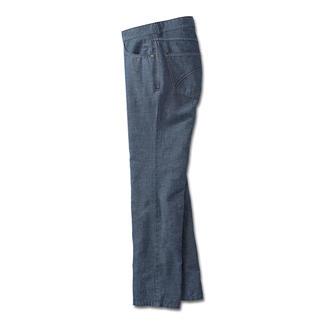 Die luftige Leinenhose mit dem knackigen Sitz einer Jeans. Formstabil, knitterarm und blickdicht.