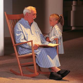 Das Grandpa-Nightshirt mit altmodischem Charme. Von Derek Rose/London. Nostalgischer Komfort: Kuschelweich und wärmend aus wertvollem, gerautem Baumwoll-Flanell.