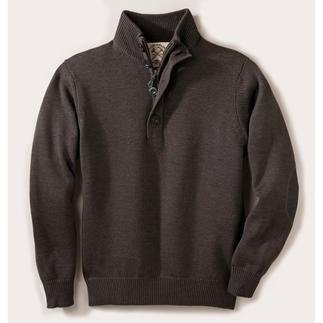 Der ideale Pullover für drinnen und draussen. Strickkunst von Alan Paine/England, seit 1907. Strickkunst von Alan Paine/England, seit 1907.