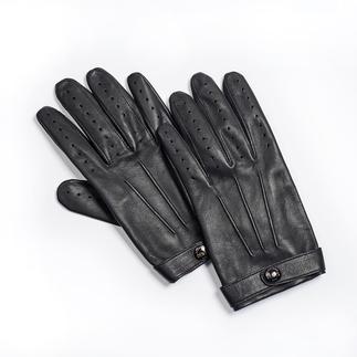 Der Gentleman-Handschuh: Visitenkarte des sicheren Geschmacks. Feinste Lederhandschuhe aus Grossbritannien, seit 1777.