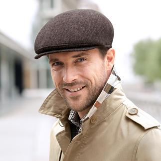 Das Mode-Comeback der Schiebermütze. Tragen Sie den Trend-Look in bewährter Qualität und Passform. Michael Zechbauer – style for men by Mayser.