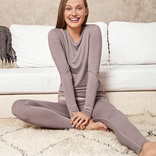 Die perfekte Wäsche für jeden Tag und fürs ganze Jahr. Active-Wool: weich, kratzfrei und nie zu warm.