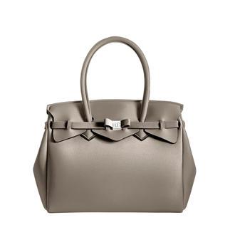 Die klassische Handtasche aus innovativem Material: wiegt nur 380 Gramm. Made in Italy vom Kultlabel Save My Bag.