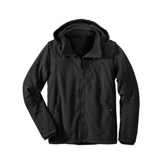 Die Jacke aus Soft Shell, mitWindProtect® von CMP. Schlank, leicht und trotzdem warm.