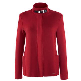 Die Belle ile-Strickjacke von Saint James/Frankreich. Edel wie eine Couture-Jacke. Vielseitig wie eine Jeansjacke. Und bequem wie eine Strickjacke.