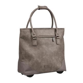 Die XL-Shopper-Bag mit verborgener Trolley-Funktion. Von Fritzi aus Preussen. Immer elegant. Ausreichend gross. Nie zu schwer.
