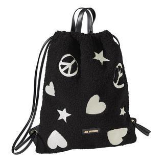 Love Moschinos Luxury Gym-Bag - unverkennbar und erschwinglich. Von der Turnhalle auf die Laufstege - der Turnbeutel wird zum Fashion-Piece.
