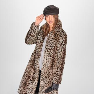 Der Gepard-Mantel vom koreanischen Toplabel für bestes Fake Fur – molliolli ECO-FUR. Wintermantel-Favorit 2019/2020.