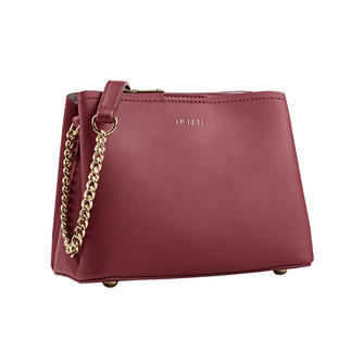 """Die elegante, puristische Mini-Bag von Inyati, dem deutschen """"Label to watch"""". Designpreis-verdächtig. Und doch erfreulich erschwinglich."""