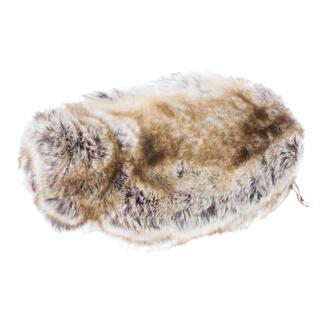 Ihre wohl kuscheligste (und schönste) Wärmflasche. Gehüllt in Webpelz de luxe von Evelyne Prélonge. Hergestellt in Frankreich.