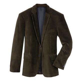Das Jersey-Cord-Sakko: unglaublich bequem, dabei weich, warm und robust wie gewohnt. Viel komfortabler, da gewirkt statt gewebt.