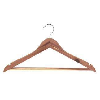 Der Kleider-Bügel aus Cedar-Wood. Zuverlässiger Schutz für Ihre wertvolle Kleidung.