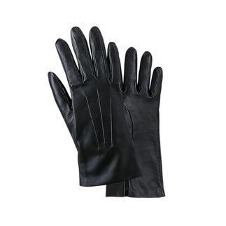 Dents-Handschuhe aus feinstem Lammnappaleder. Daran erkennt man die Lady. Feinstes, makelloses Leder wird handverlesen. Die Handschuhe sitzen immer wie eine zweite Haut.