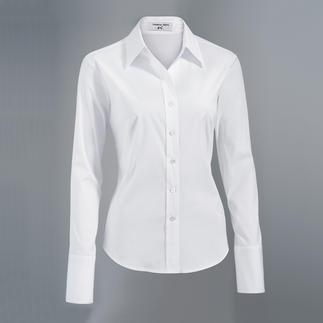 Die klassische Hemdbluse aus feinstem Albini-Stoff. Das genau richtige Material. Die perfekte Passform. Albini in Italien ist seit über 130 Jahren bekannt für feinste Blusen- und Hemdenstoffe.