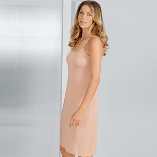 Das Seidenjersey-Unterkleid - ein bequem elastisches Unterkleid aus reiner Seide. Sieht viel besser aus und ist angenehmer und luftiger als Synthetik.