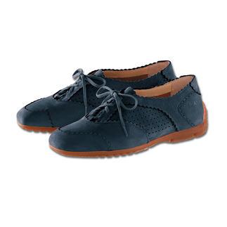 Der Sommer-Sneaker - Elegant, bequem und luftig. Mit echter Latexsohle. Von Arcus®/ Frankreich. Erstaunlich feminin, mit feiner aufwändige Verzierunge. Durch unsichtbaren Absatz wird das Laufen angenehmer.