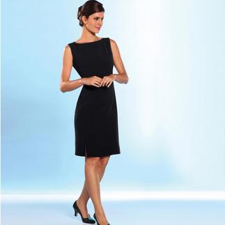 Der Zweiteiler aus Microsilk: das Highlight – selbst in einer gut sortierten Garderobe. Elegant, schwarz, wertvoll. Knitterfrei und atmungsaktiv. Übersteht dank der Hightech-Microfaser jeden Anlass.