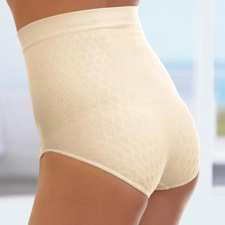 Der Seamless Slip - formt raffiniert eine optisch schlanke Silhouette, ohne einzuengen. Elasthan macht den Slip anschmiegsam, mit straffendem Sitz.
