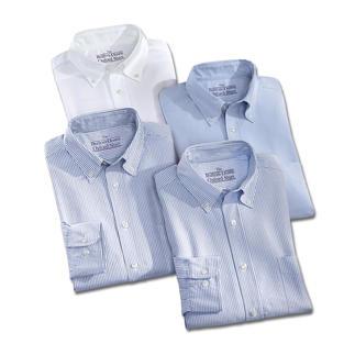 Die BDO-Basic-Hemden aus luftig, lässigem Oxford-Gewebe. Es ist grosszügig gefertigt -  nichts engt Sie ein.