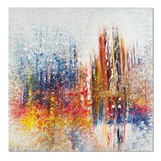 Benno Werth – Schichtarbeit Exklusiv für Pro-Idee: Prof. Benno Werth editiert erstmals sein Lieblingswerk. Der erfolgreiche Künstler firnisst jedes der 20 Exemplare von Hand. Masse: 100 x 100 cm