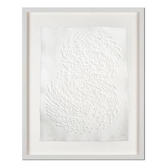 Günther Uecker – Both Prägedruck auf 300-g-Büttenpapier  Auflage: 50 Exemplare   Exemplar: e. a.  Blattgrösse (B x H): 50 x 70 cm   Masse: gerahmt 68 x 88 cm
