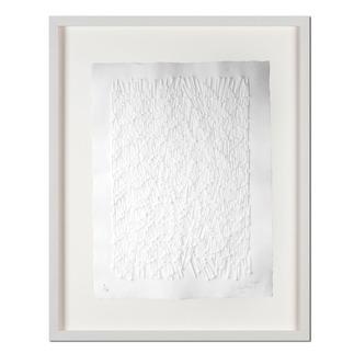 Günther Uecker – Strahlung Prägedruck auf 300-g-Büttenpapier  Auflage: 100 Exemplare   Exemplar: e. a.  Blattgrösse (B x H): 60 x 76 cm   Masse: gerahmt 78 x 94 cm